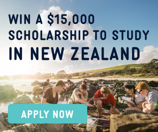 New Zealand Study Abroad Scholarship Banner